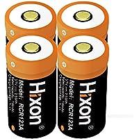 RCR123A Batteries for Arlo HD Camera Hixon 3.7V 700mAh Rechargeable Li-ion Batteries for Arlo VMS 3030/3230/3330/3430 Cameras( Pack of 4pcs)