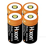 RCR123A Arlo Batteries Rechargeable Hixon 3.7V 700mAh Li-ion Battery for Arlo VMS 3030/3230/3330/3430 Cameras(Pack of 4pcs) UN CE Certified