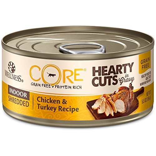Wellness Core Hearty Cuts Natural Canned Grain Free Wet...