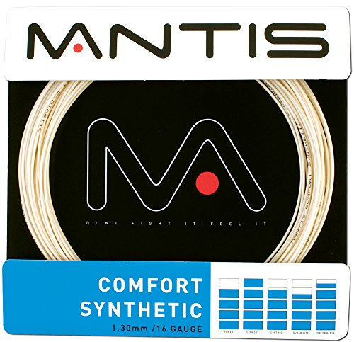 Mantis Comfort Synthetic Tennis String Set, Color- Natural