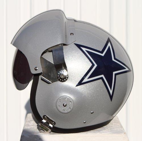 Fighter Pilot Motorcycle Helmet Dallas Cowboys ...