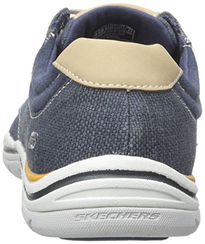 Skechers ExpectedOrman, Herren Sneakers, Blau (NVY), 45 EU