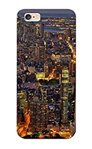 High-quality Durable Protection Case For Iphone 6 Plus(new York At Night ) For New Year's Day's Gift