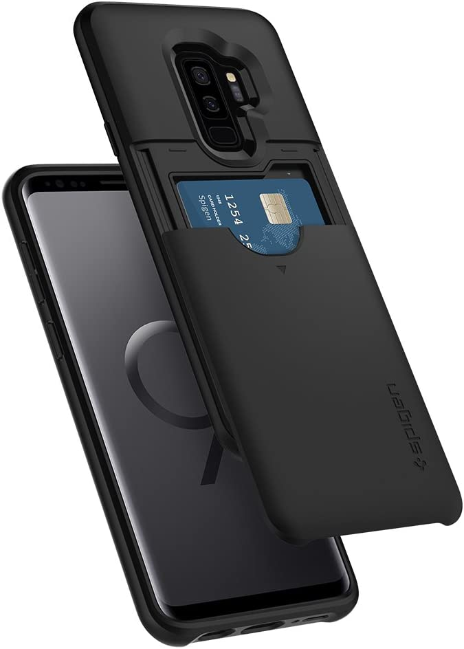 Spigen Slim Armor CS Designed for Samsung Galaxy S9 Plus Case (2018) - Black