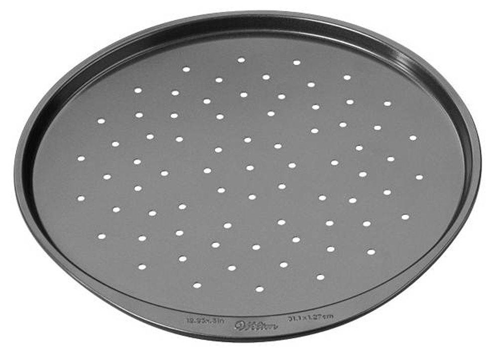 Wilton 2105-1368 Oven Right Toaster Oven Pizza Crisper, 12-Inch, Non-Stick