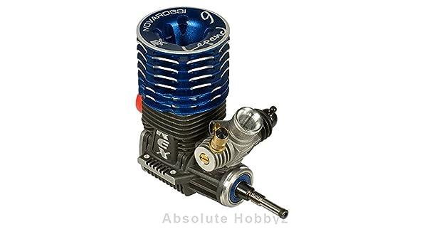 Amazon.com: Novarossi Rex Legend 21 On Road 9 Port Engine Turbo Plug (Ceramic Bearings): Toys & Games