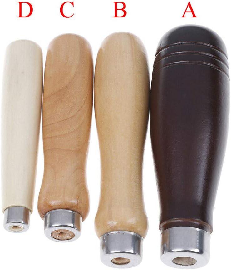 durevole c Come da immagine Cleme strumento ergonomico per la lavorazione del legno fai da te lucidatura liscia Maniglia per lima in legno a prova di ruggine per la casa accessorio portatile