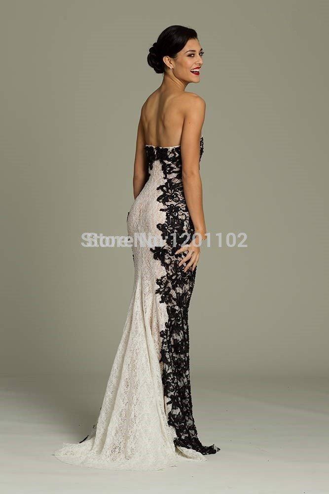Amazon.com : Vestidos De Festa 2015 New Arrival Party Dresses Strapless Evening Dress Romantic Lace Vestido De Festa De Long Evening Dresses 14w : Sports & ...