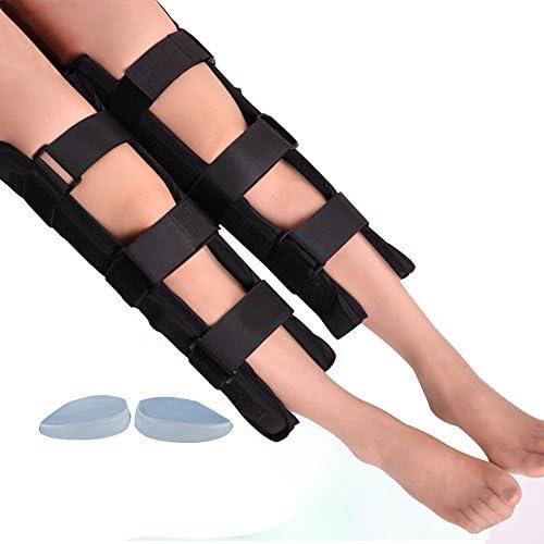 WANGXN Beine Haltungskorrektur Einstellbares O-Bein X-Bein Korrekturgürtel Ochse Gerades Bein Artefakt Erwachsene Kinder Baby Mädchen,35cm