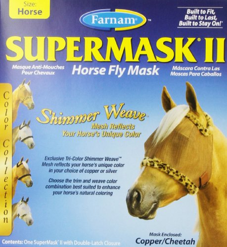Farnam Supermask Horse Copper Cheetah
