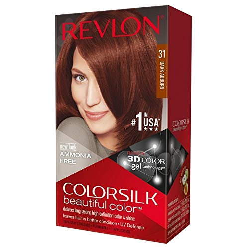 Revlon ColorSilk Hair Color, [31] Dark Auburn 1 ea (Pack of 11)