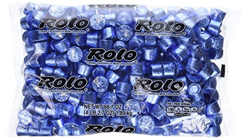 ROLO Chewy Caramels in Milk Chocolate (Blue, 66.7-Ounce Bag)