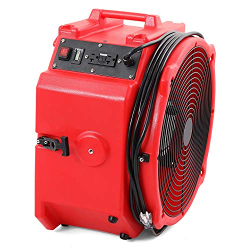 MOUNTO Mt4000A 1/4hp 4000cfm Axial Air Mover Floor Dryer