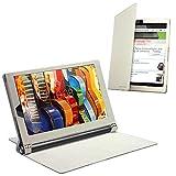 Celicious Notecase W2 Wallet Stand Case for Lenovo Yoga Tab 3 Pro - White