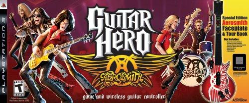 Guitar Hero Aerosmith Wireless Bundle - Playstation 3 (Guitar Hero Aerosmith Ps3)