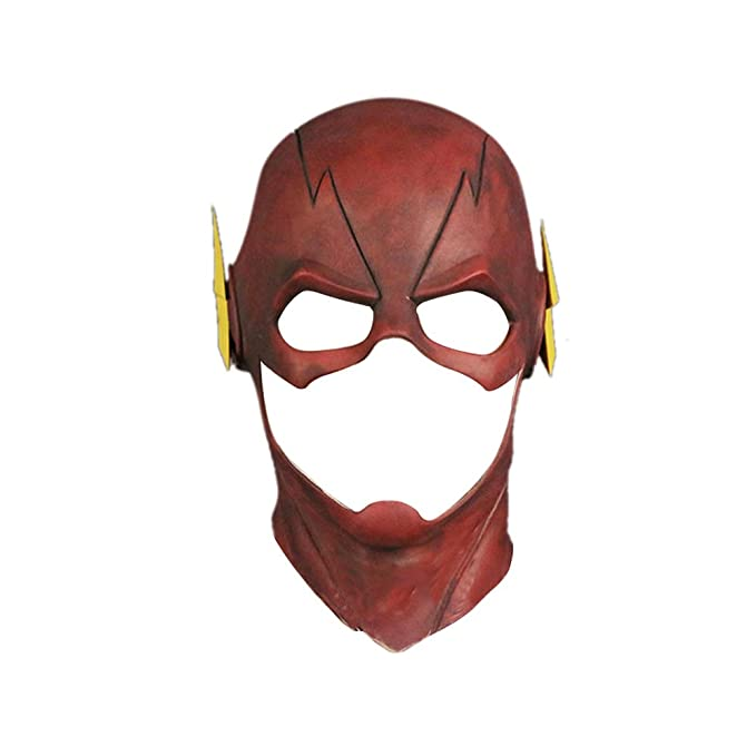 TFYST Flash Mask Adult Halloween Rubber Latex Party Mask Head Costume Full Face Helmet  sc 1 st  Amazon.com & Amazon.com: TFYST Flash Mask Adult Halloween Rubber Latex Party Mask ...