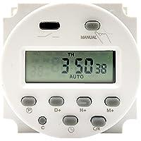 Tomshin Contagem regressiva do interruptor do temporizador digital programável Mini interruptor de controle de tempo…