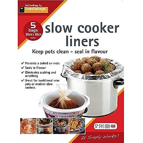toastabags Bolsas de Aluminio para cocinar Slow Cooker Liner ...