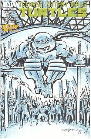 Teenage Mutant Ninja Turtles 25 Kevin Eastman Roughs Jetpack ...