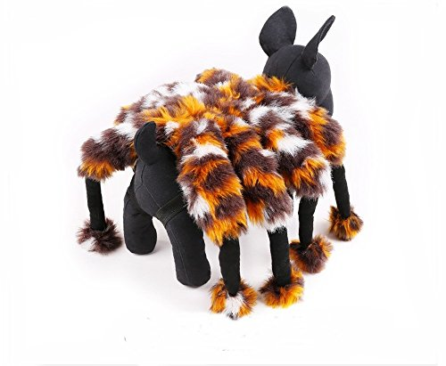 Sven Costume For Dog (Pet Dog Clothes Visual Huge Spider Dog Coats Sets Dog Party Costume Apparel Halloween Funny (M))