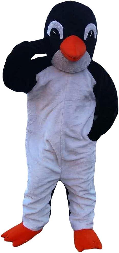 Disfraz de pingüino Blanco y Negro con Personaje de Dibujos ...