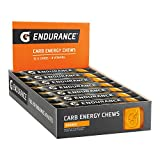 Gatorade Endurance Carb Energy Chews, Orange (Pack of 21) Net Wt 28.1 Oz