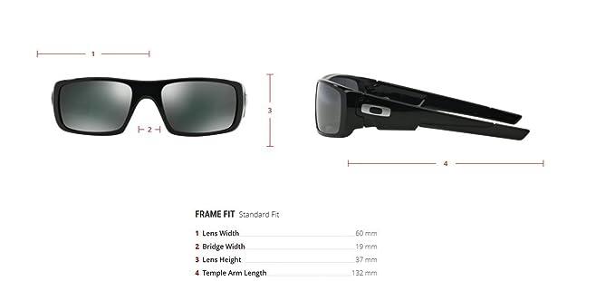 Amazon.com  Oakley Men s Crankshaft Sunglasses c1f0fb78c9
