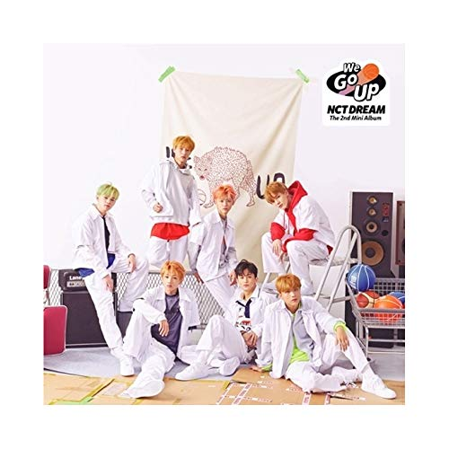 NCT Dream - [We Go up] 2nd Mini Album CD+1p Poster+Booklet+Card+Sticker+Pre-Order Item+Extra PhotoCard Set K-POP Sealed by NCT DREAM