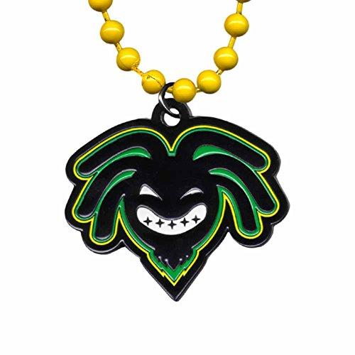 WWE Kofi Kingston Logo Pendant With Yellow (Kofi Kingston Kids)