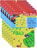 "Birthday Pary Gift Bag GIANT 36 "" X 9.6 "" X 44"" - 6 Pack"