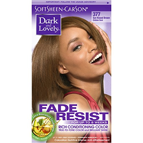 SoftSheen-Carson Dark and Lovely Fade Resist Rich Conditioning Color, Sunkissed Brown 377
