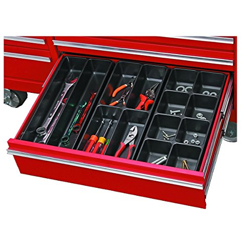 Total Tackle (New 3 Piece Total 14 Compartment Drawer Organizer Set Organizer 2.4 in. x 15.8 in. x 7.25 in. Chest Holder for tools, nails, screws, fishing tackle)