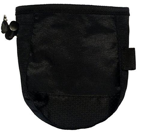 Epic Gear Chalk Bag for Gymnastics, Climbing, and Weight Lifting - Black (Chalk Nylon Bag)
