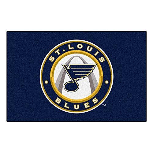 FANMATS NHL St Louis Blues Nylon Face Starter Rug (Starter Louis Blues)