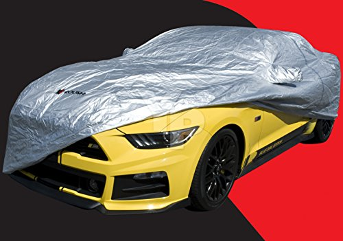 (2015-2019 Mustang Roush Silverguard Indoor Car Cover with Storage Bag)