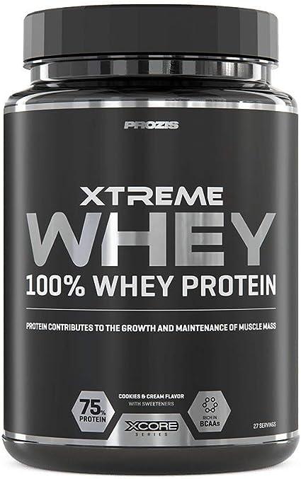 Xcore Nutrition Xtreme Whey Protein, Galletas y Crema - 900 gr