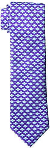 Star Wars 1100 Men's Furnishing's Yoda Optical Tie, Purple, Regular]()