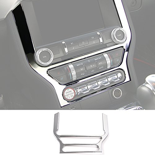 CenterConsole Switch Button Cover Frame Trim DashBoard Frame Panel Trim For Ford Mustang 2015 2016 ()