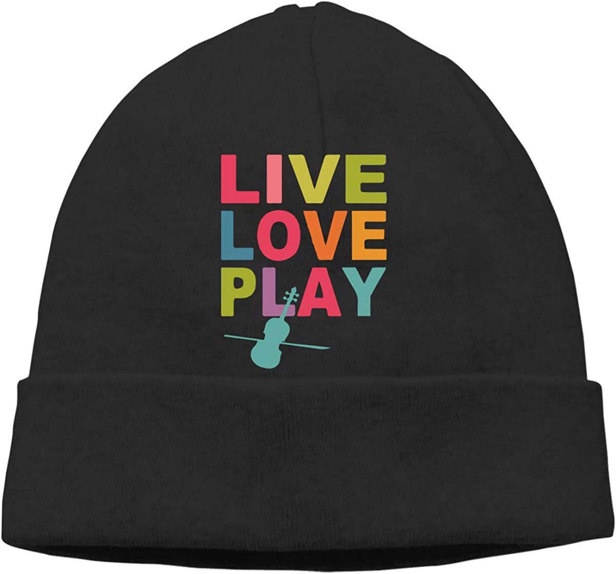 Live Love Play Men and Women Thick Surf Beanie Hats