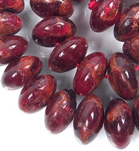 Coral Ruby Earrings - 8