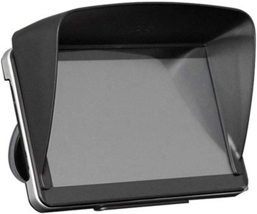 Festnight GPS Sun Shade Cover Car Navigation Visor Plus Flexible Visor Extension for 7 inch Navigation Accessories