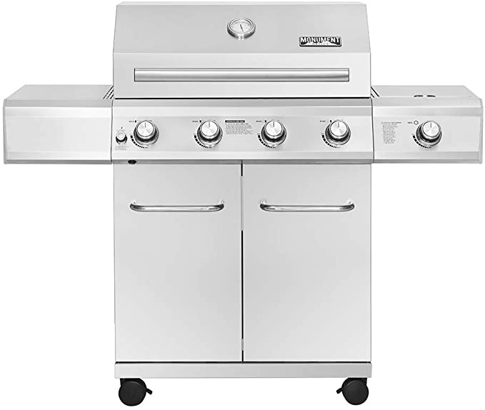 Monument Grills 4-Burner Propane Gas Grill - Best Built-Quality