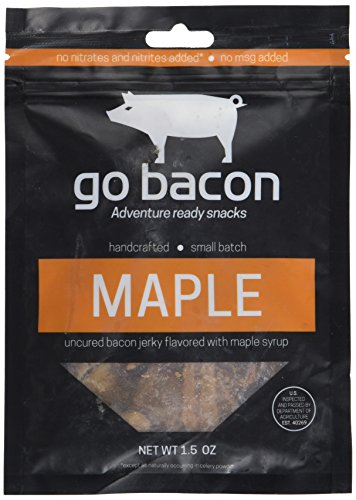 GoBacon - Premium Uncured Maple Bacon Jerky