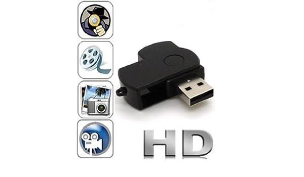 Agente007 - Mini Camara Espia Dvr Oculta En Memoria Usb Pendrive Hd 960P: Amazon.es: Electrónica