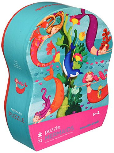 - Crocodile Creek Mermaid 72Pc Junior Puzzle