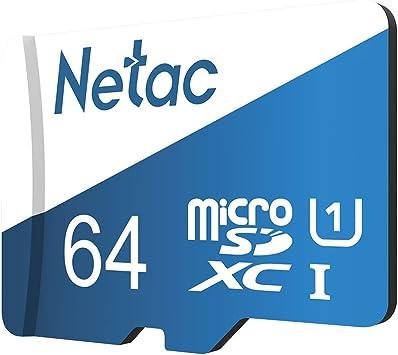 Docooler Netac P500 Clase 10 Tarjeta Micro SDXC TF 16 GB 32GB 64GB 128GB 256GB Tarjeta de Memoria Flash Almacenamiento de Datos de 80 MB//s