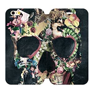 Abstractionism Skull Custom Cover Case for iPhone6 Plus 5.5