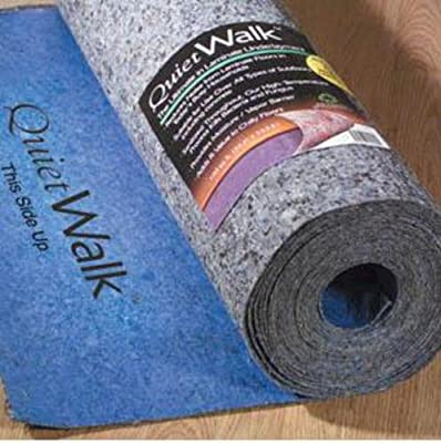 MP Global Products Laminate Flooring Underlayment w/Moisture Barrier & Sound Absorption Felt 3mm 100 Sq Ft Blue