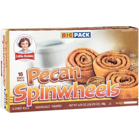 Little Debbie Pecan Spinwheels 16.92 Oz (6 Boxes) by Little Debbie
