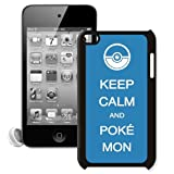 CellPowerCasesTM Keep Calm Pokemon Apple iPod Touch 4G Case - Fits iPod 4th Generation